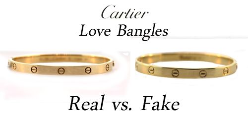 How to spot a real cartier love ring