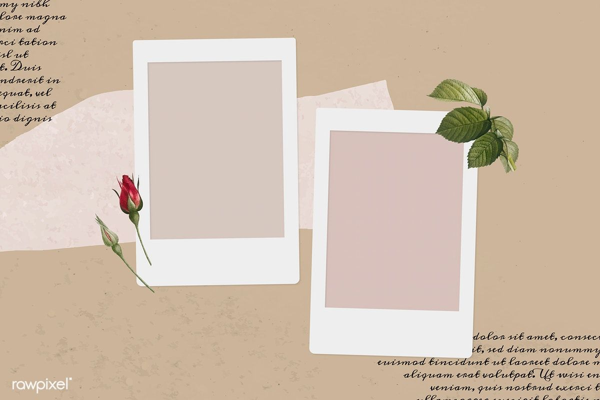 Download Premium Vector Of Blank Collage Photo Frame Template On