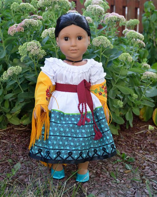 Josefina Birthday Dress: Josefina's Feast Outfit