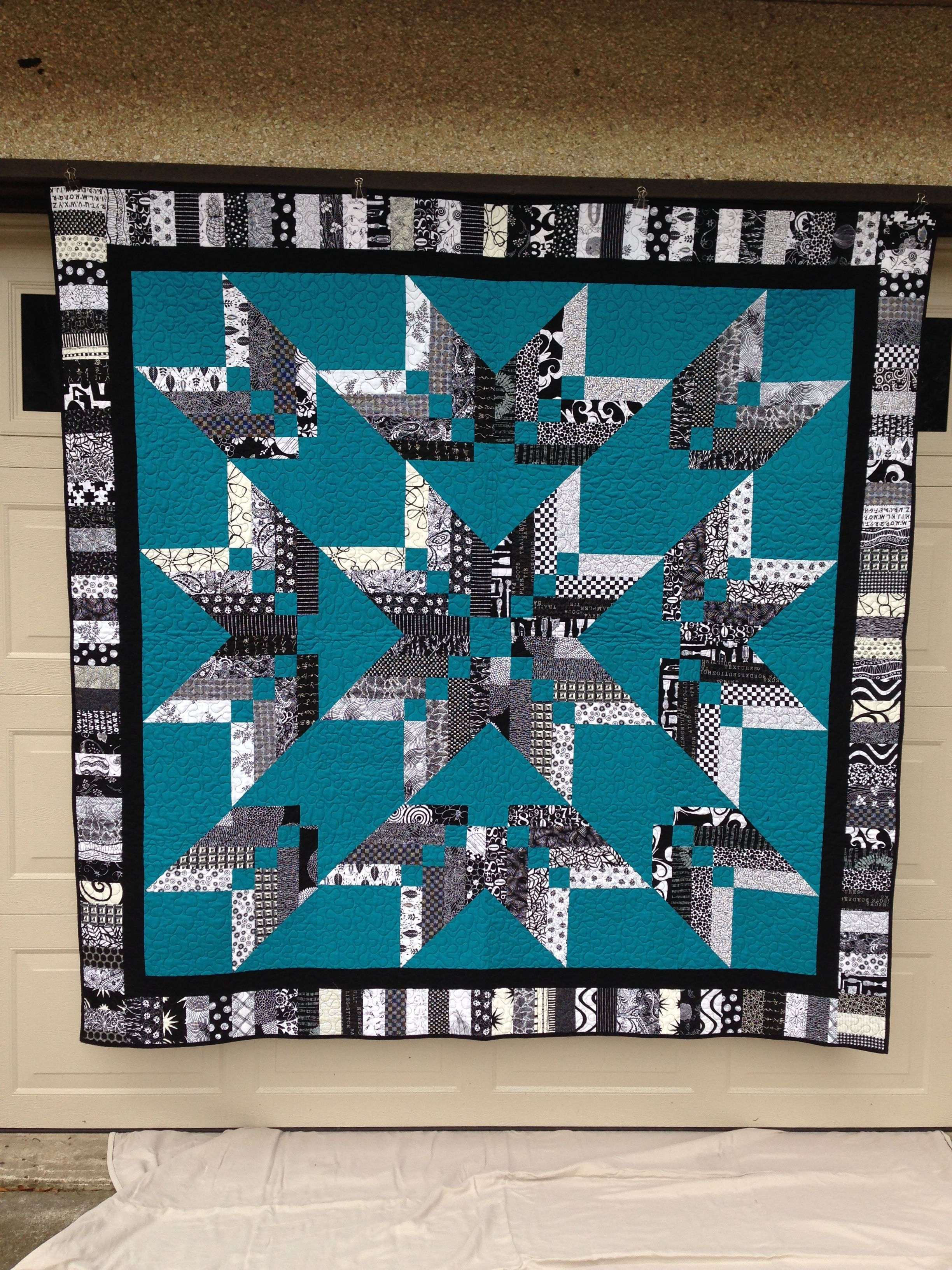 Binding Tool Star Quilt, pattern as seen on Missouri Star Quilt Co ... : missouri quilt star - Adamdwight.com