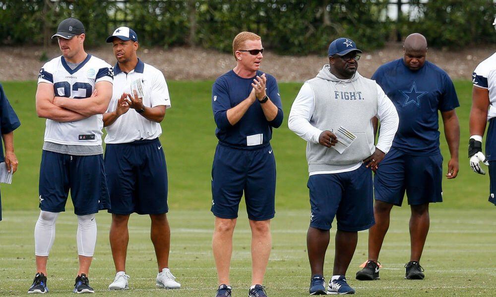 Prescott and Garrett hold throwing competition after practice = The Dallas Cowboys are officially in the Dak Prescott era with fellow quarterback Tony Romo recently hanging up his cleats in favor of the broadcasting booth. While Prescott is.....