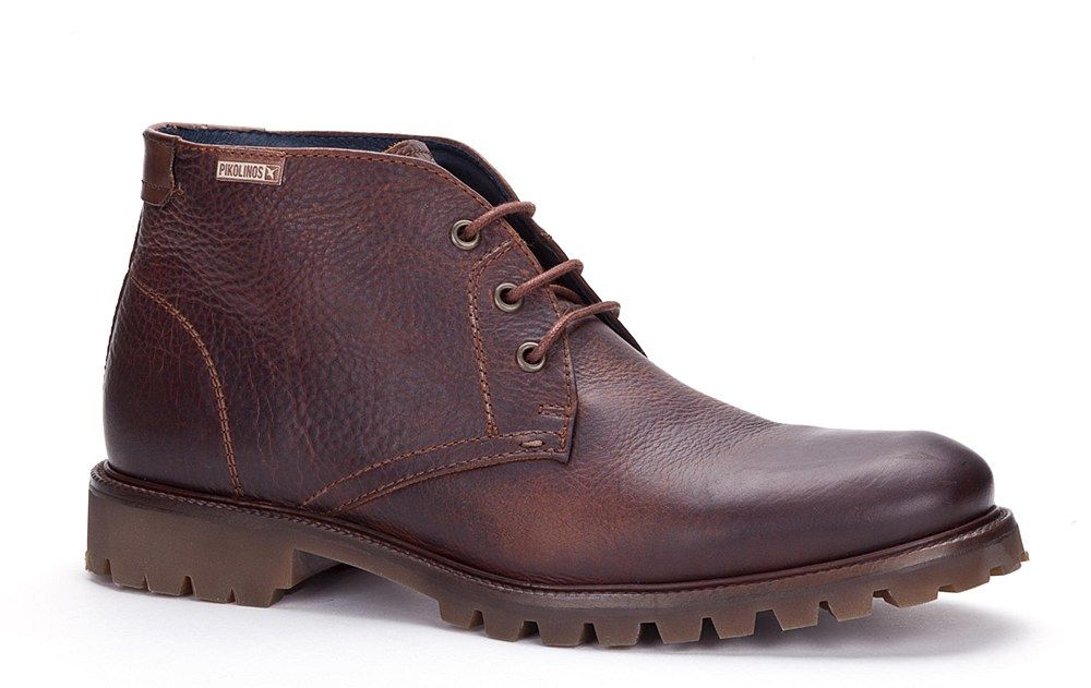 Pikolinos 00T-6860 (Sherborne) Mens Lace Up Chukka Boot - Cuero Grain - Robin Elt Shoes http://www.robineltshoes.co.uk/store/search/brand/Pikolinos-Mens/ #Autumn #Winter #AW14 #2014 #2015