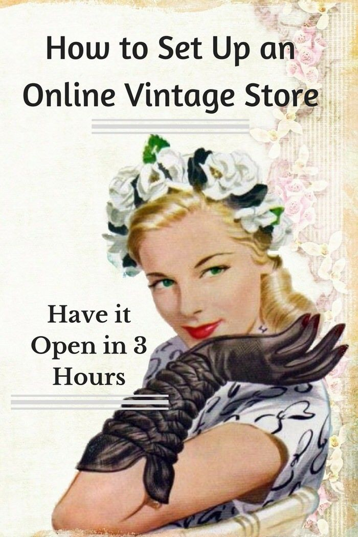 How to set up an Online Vintage Store and Have it Open in 3 hours. Utilizing GoDaddy's GoCentral Website Builder set up any ecommerce store with no coding.
