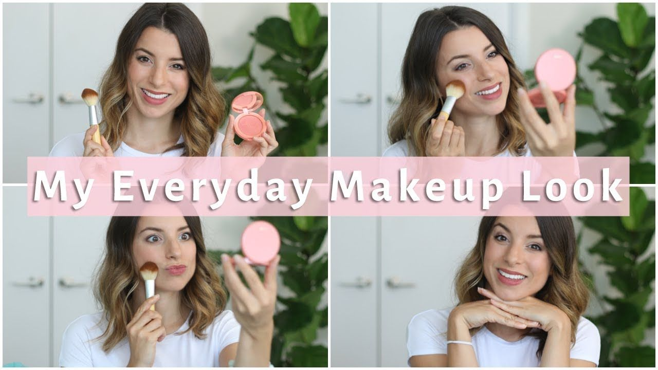 Back to School Everyday Makeup Routine 2017 Simple