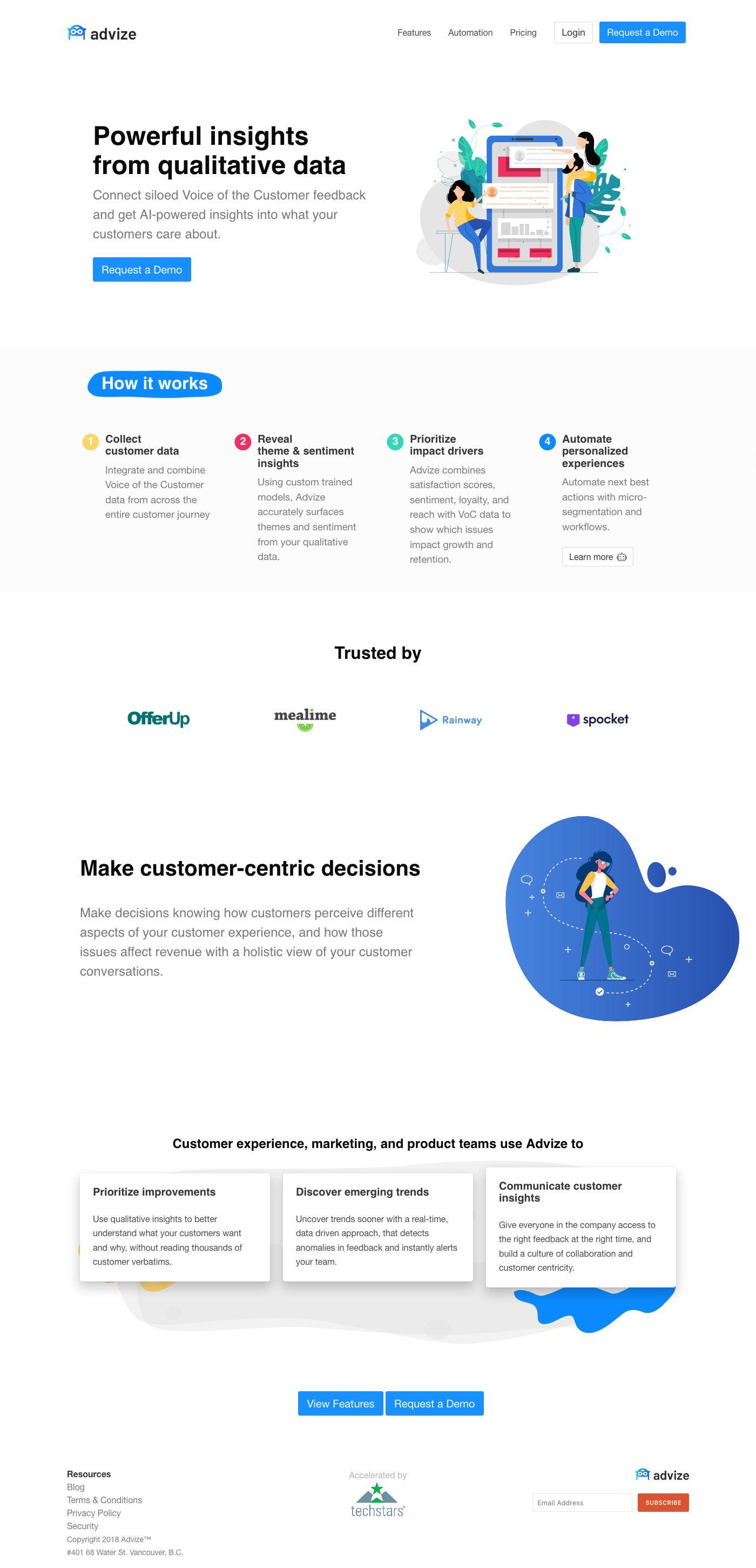 1a13b86459 Advize.ai - AI-powered Text Analytics for Customer Experience