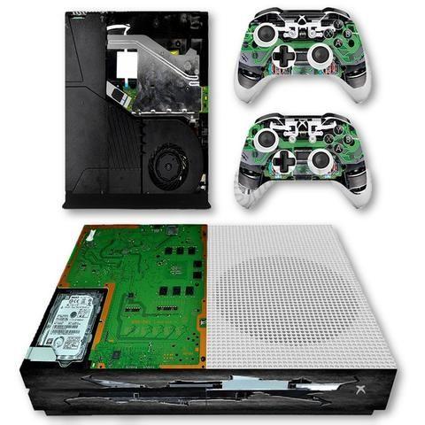Exposed Circuit Skin - Xbox One Slim Protector | Xbox One Slim Skins on