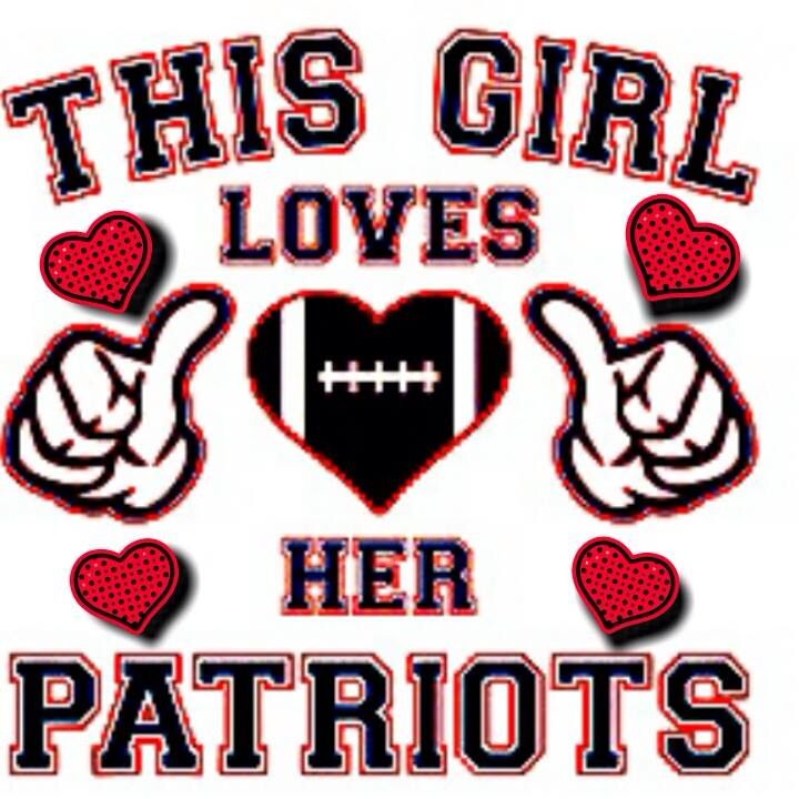 Image result for this girl loves her patriots