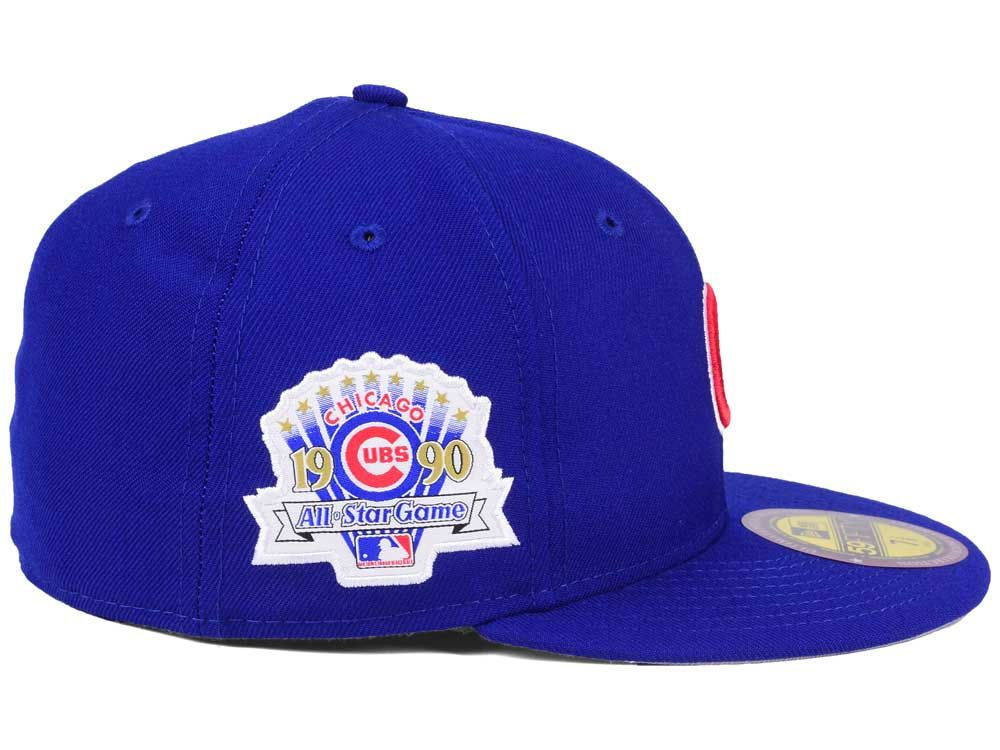 Chicago Cubs New Era Mlb Ultimate Patch 1990 All Star Game 59fifty Cap Chicago Cubs Gear Cubs Gear Chicago Cubs