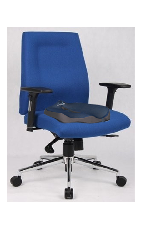 office chair comfort accessories white faux leather choose the best cushion with back support and stay