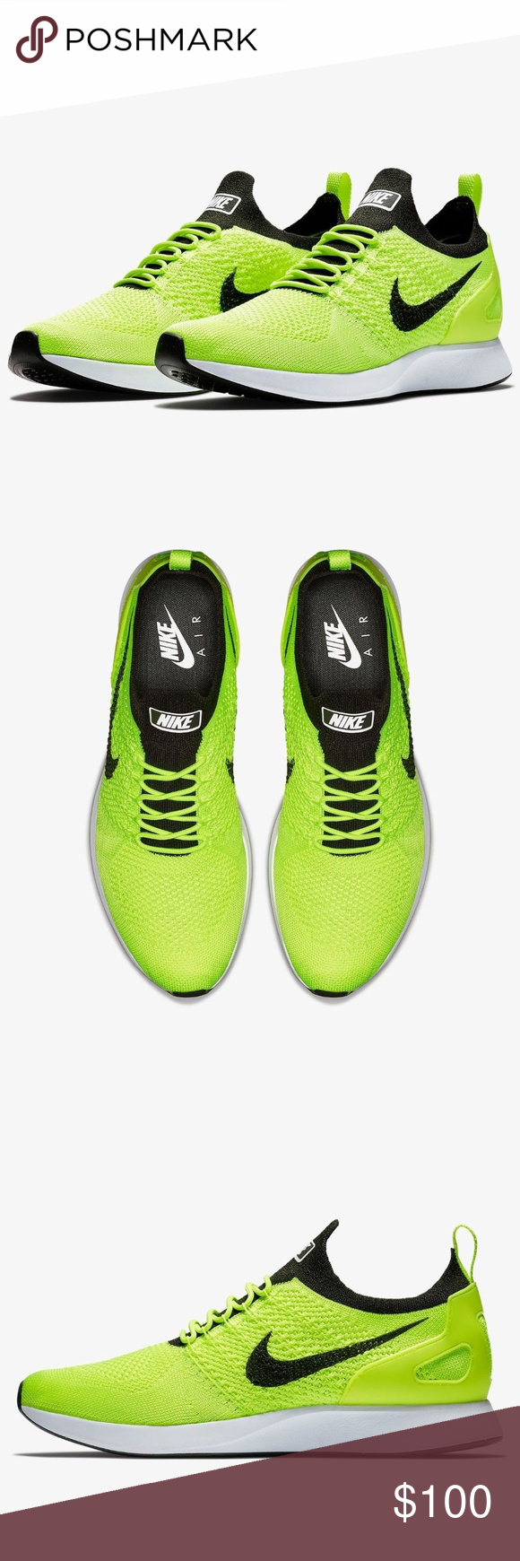 91a974ebbda8 Nike Air Zoom Mariah Flyknit Racer Running Shoes Nike Air Zoom Mariah  Flyknit Racer Volt