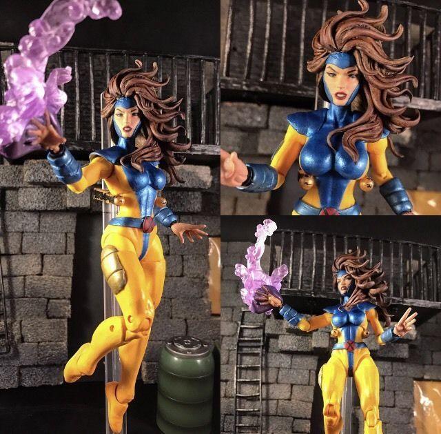 Cyclope Marvel legends X-MEN Jean Grey et Wolverine 6-In Action Figure 3-Pack