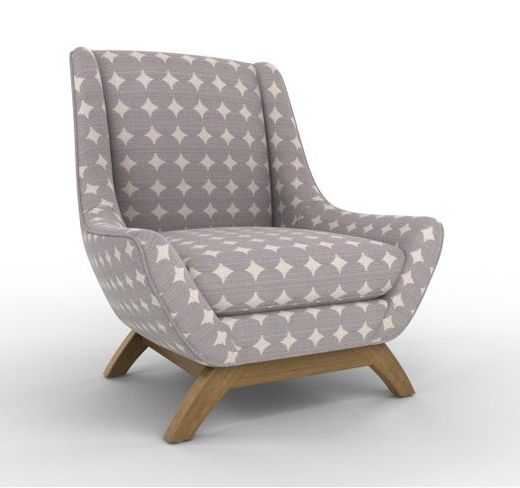 Jensen Chair In Ellis Stone, Perfect For My Short Legs :)