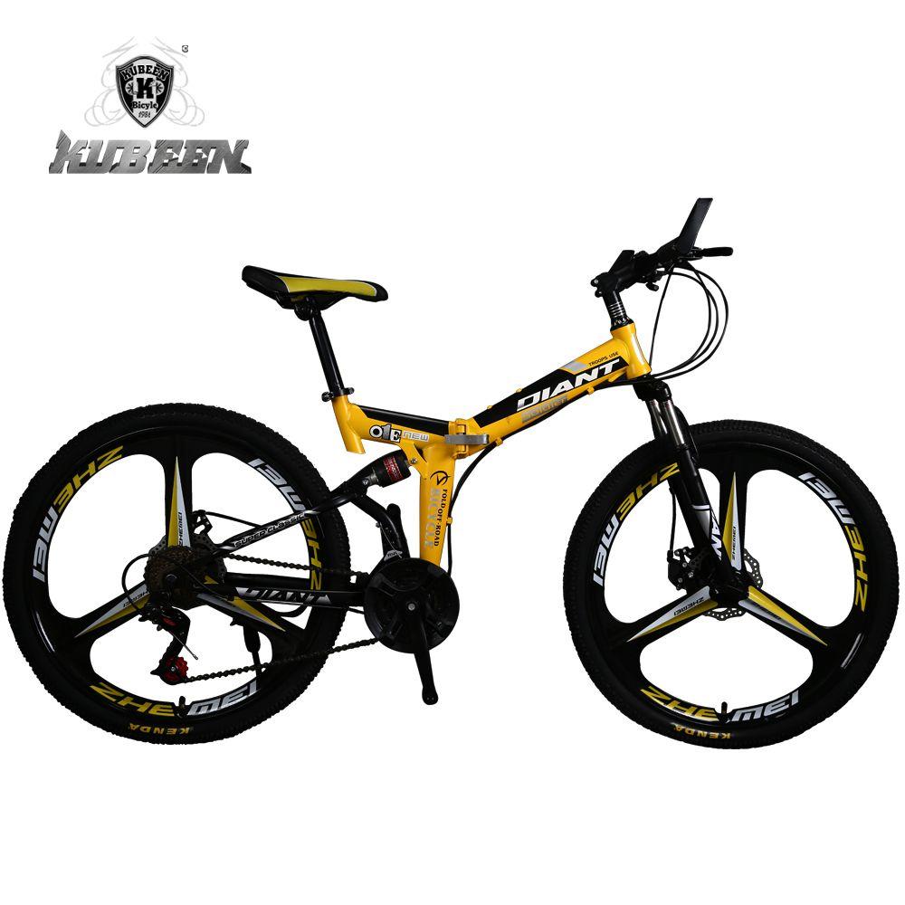KUBEEN DLANT 21-speed bicicletas de acero bicicleta de montaña de ...