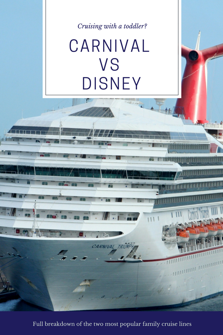 Disney Vs Carnival How To Cruise With Toddlers Cruises - Cruise ship terms