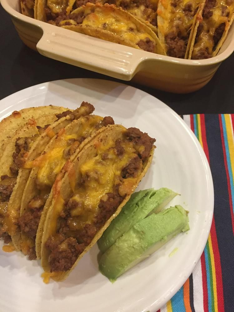 Tacos are a favorite meal, baking them in the oven makes them so easy and delicious. Your family will love oven tacos! #oventacos
