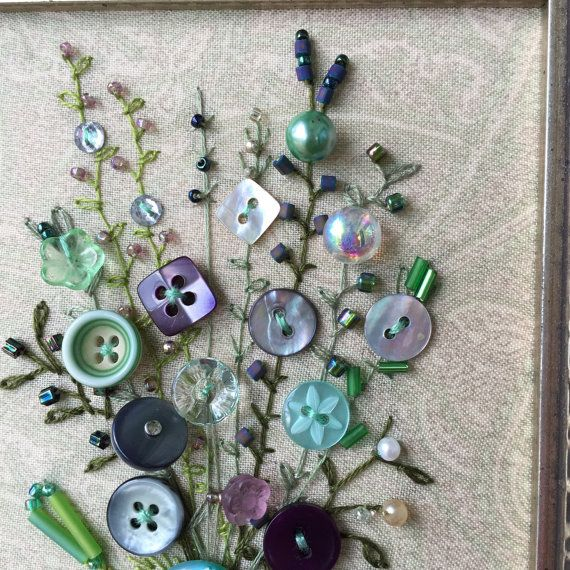 Art Projects Using Old Buttons