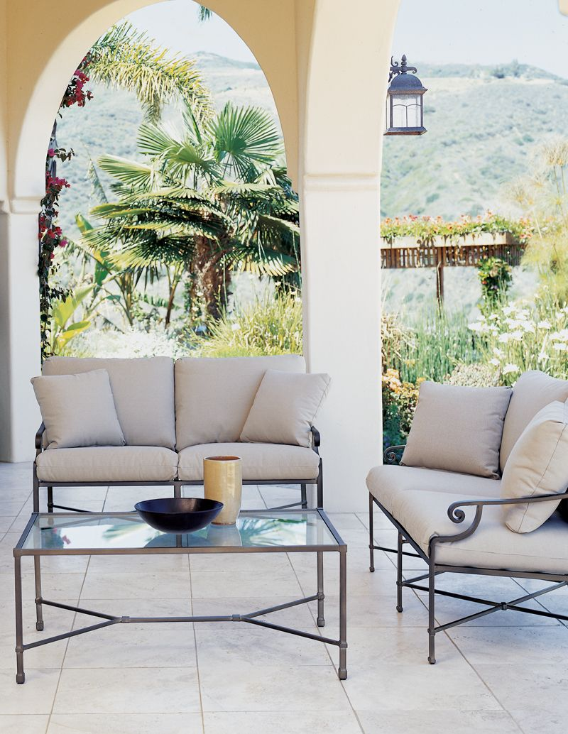 Brilliant The Venetian Loveseat And Cocktail By Brown Jordan Home Remodeling Inspirations Cosmcuboardxyz