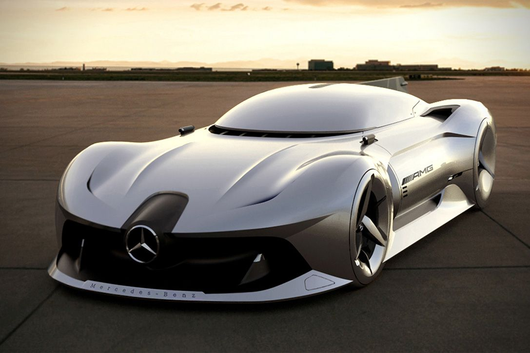 Jet Powered 2040 Mercedes Benz Streamliner 3 Mercedes Concept Best Luxury Cars Concept Cars