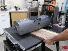 Using a Drum Sander in the Shop: SuperMax 19-38