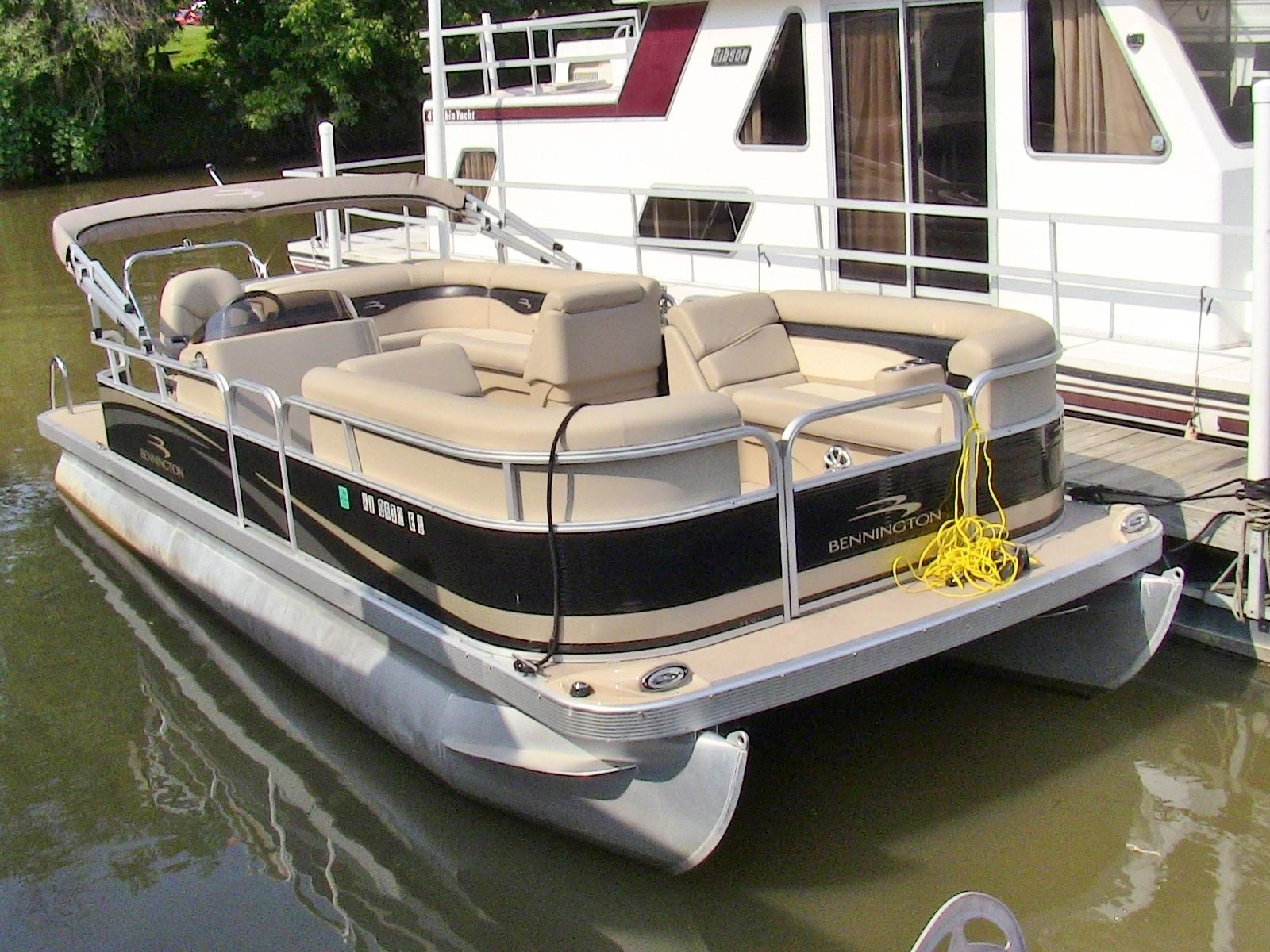 2011 bennington 24 sli fully loaded pontoon boat 90 hp