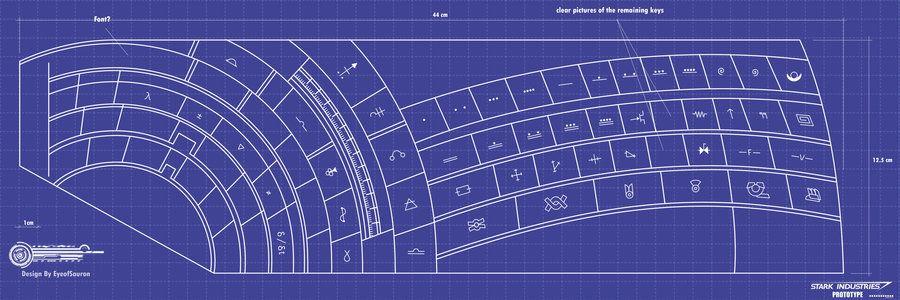 Ironman\ Digital Keyboard Schematic Blueprints Zzzspace Larp Rhpinterest: Iron Man Schematics At Gmaili.net