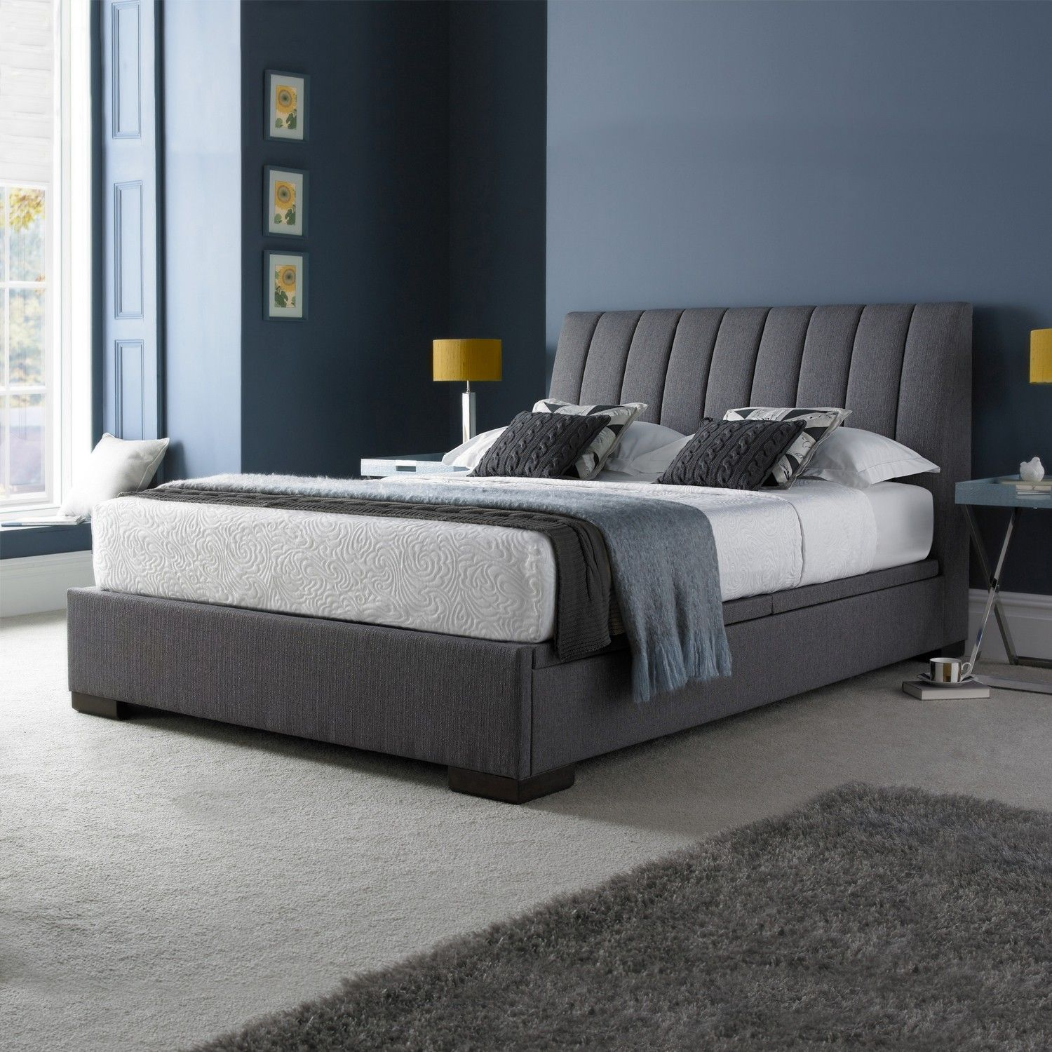 9c4779686dde Lana Bed Frame | Bedroom in 2019 | Ottoman bed, Ottoman storage bed ...