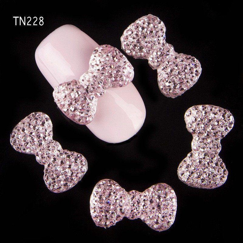 3d nail art charms jewelry rhinestones decoration | Nail Pearls ...