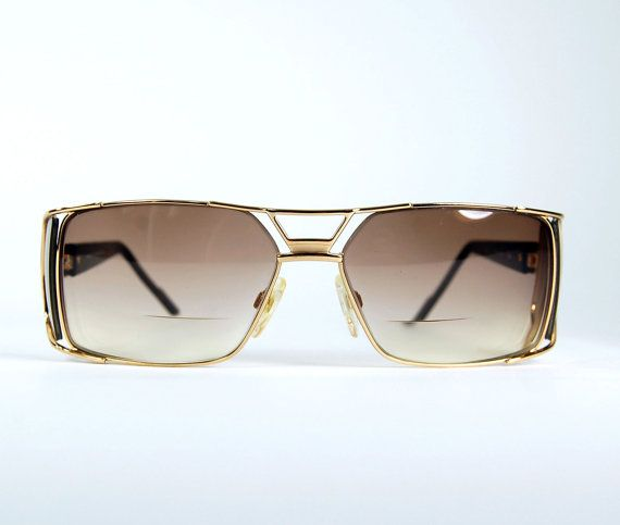 acfca9ad0cd7 80 s Cazal Golden Metal and Tortoise Aviator by thenovelty on Etsy Vintage  Sunglasses