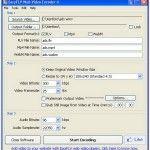 Convert video to FLV format, WebM using free EasyFLV Web Video Encoder | 8tut.com