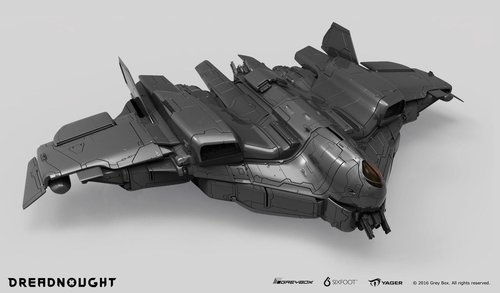 ArtStation - Fighter Jet - Dreadnought, Joshua Morrison