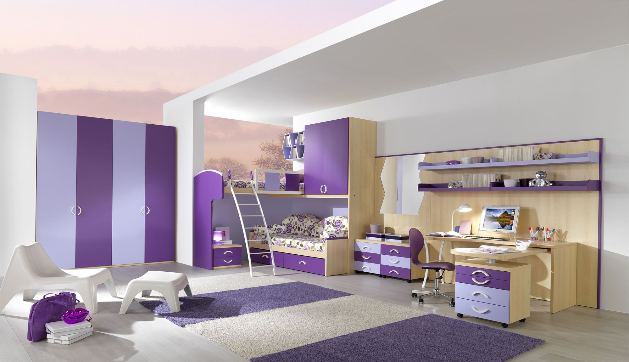 Make Your Children S Bedroom Larger Using Bunk Beds Pouted Online Lifestyle Magazine
