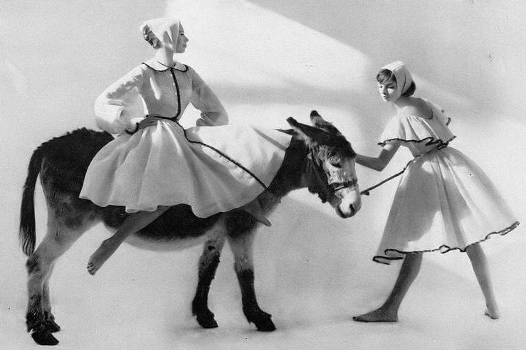 Iris Bianchi, photo by Francesco Scavullo, Harper's Bazaar, April 1959   flickr skorver1