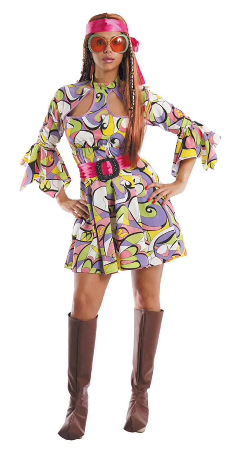 Disfraz de hippie 70s disfraces de mujer pinterest for Disfraz de hippie