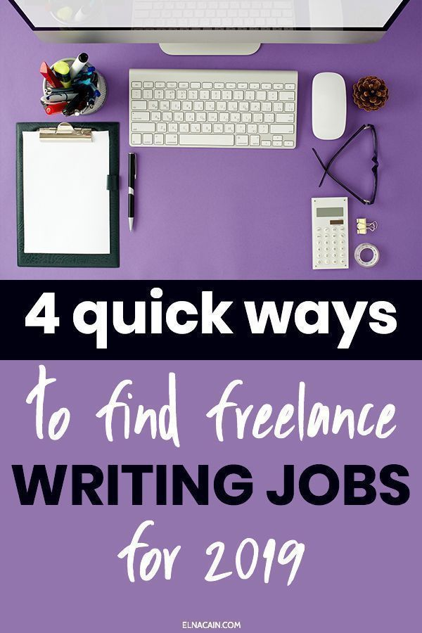 006 4 Fast Ways to Find Online Writing Jobs Side Hustle