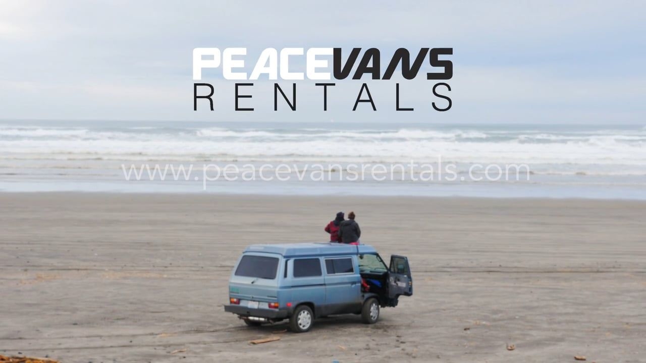Peace Vans Rentals Goes Road Tripping | Oh the places you'll
