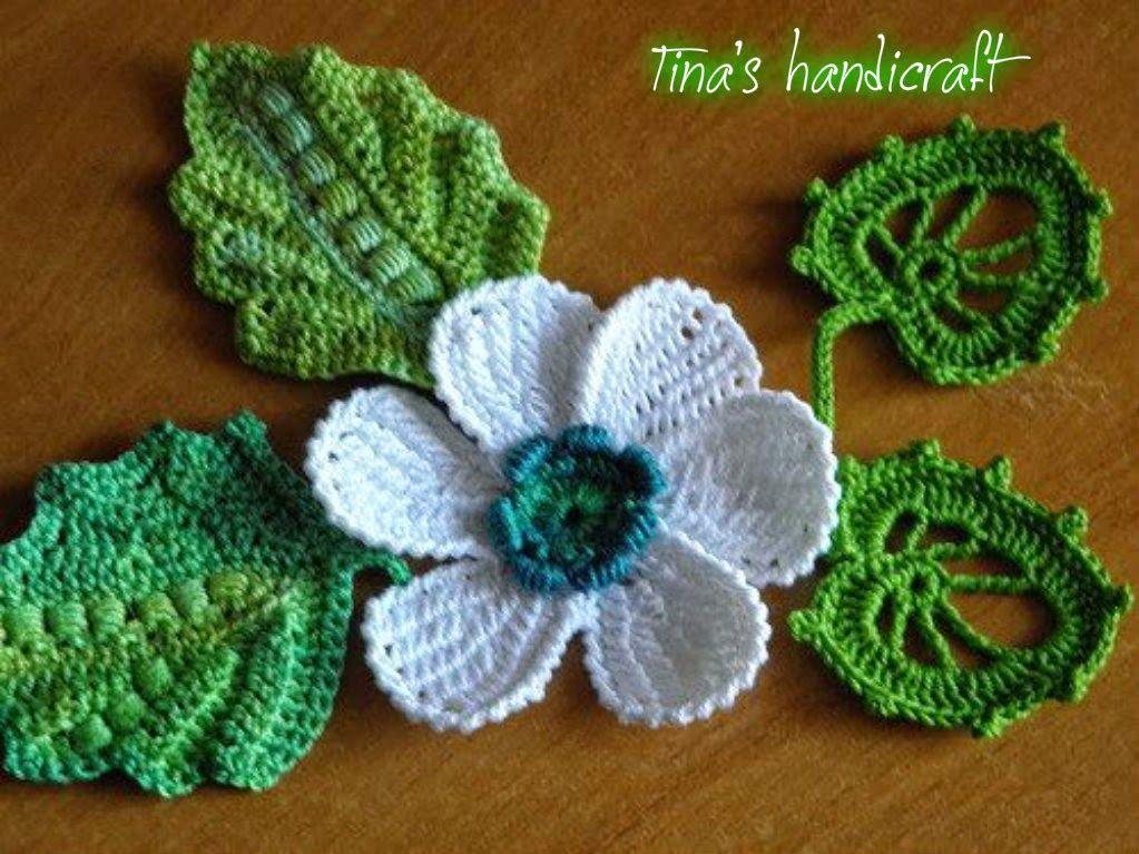 Tina\'s handicraft : flower | broderie | Pinterest