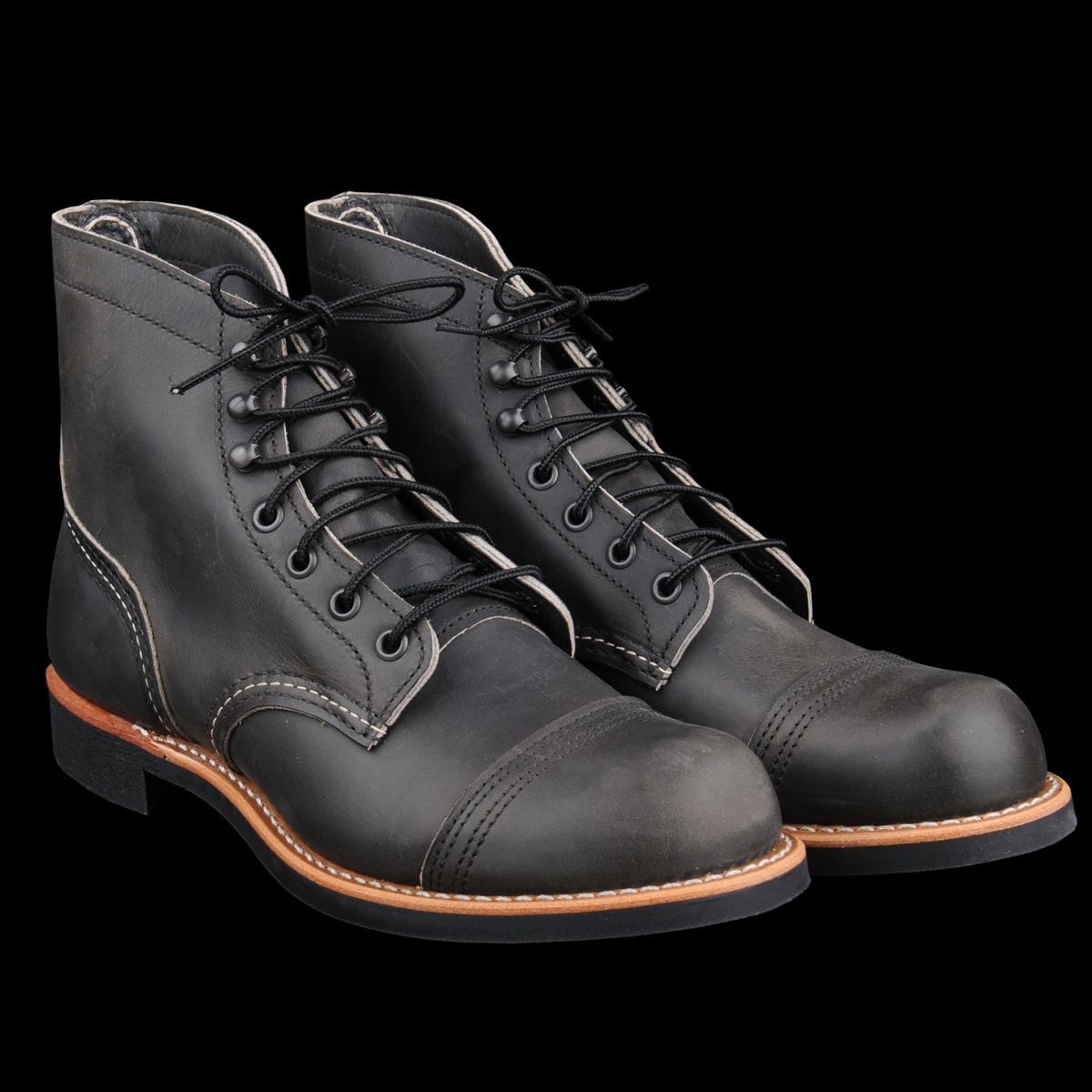 Red Wing - Iron Ranger in Charcoal Rough & Tough 8086