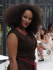 Shavonne Dorsey Chocolate Draped Dress