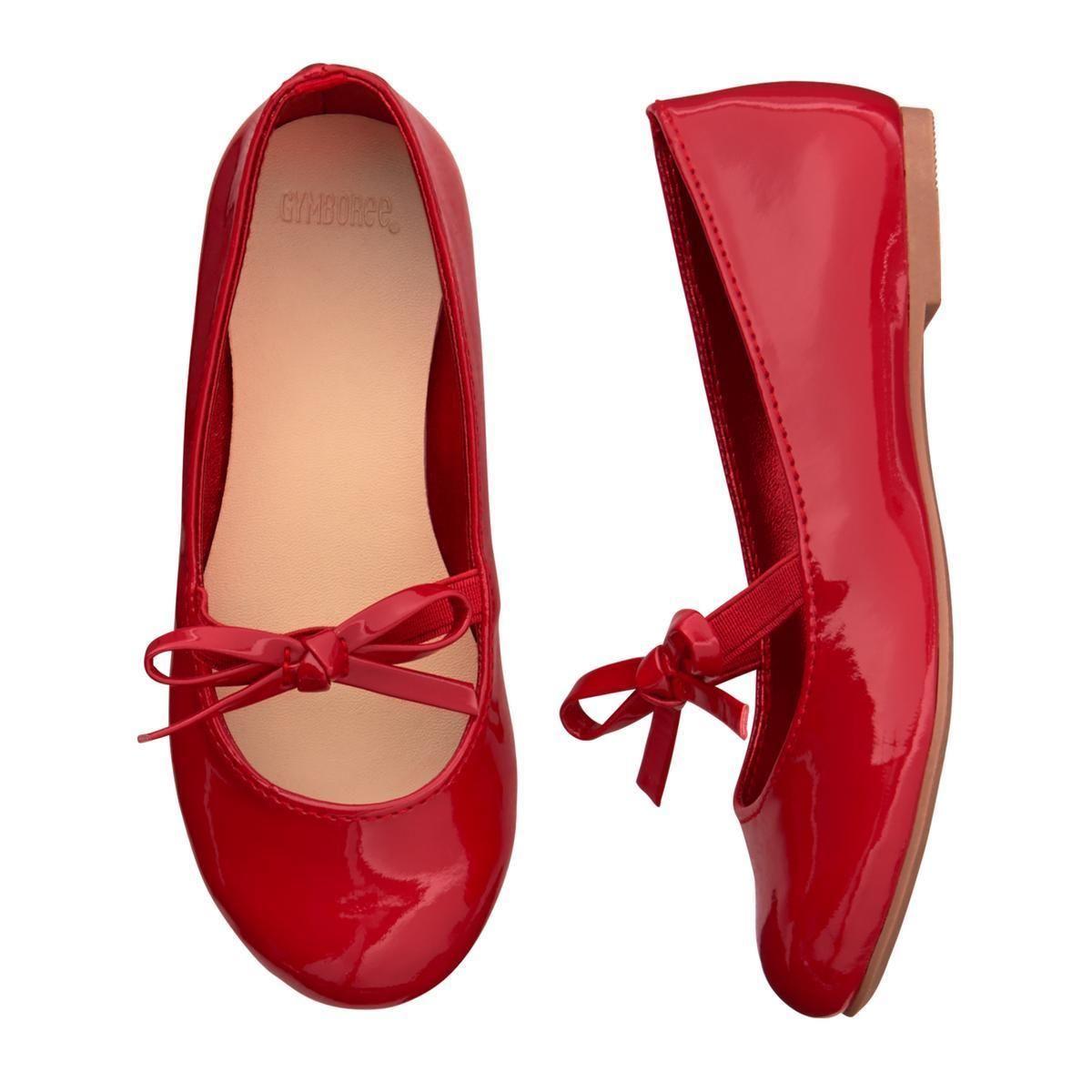 04fef4a87033 NWT Gymboree North Pole Party Red Flats Dress shoes Toddler girls ManySizes  Kleding en accessoires Schoenen