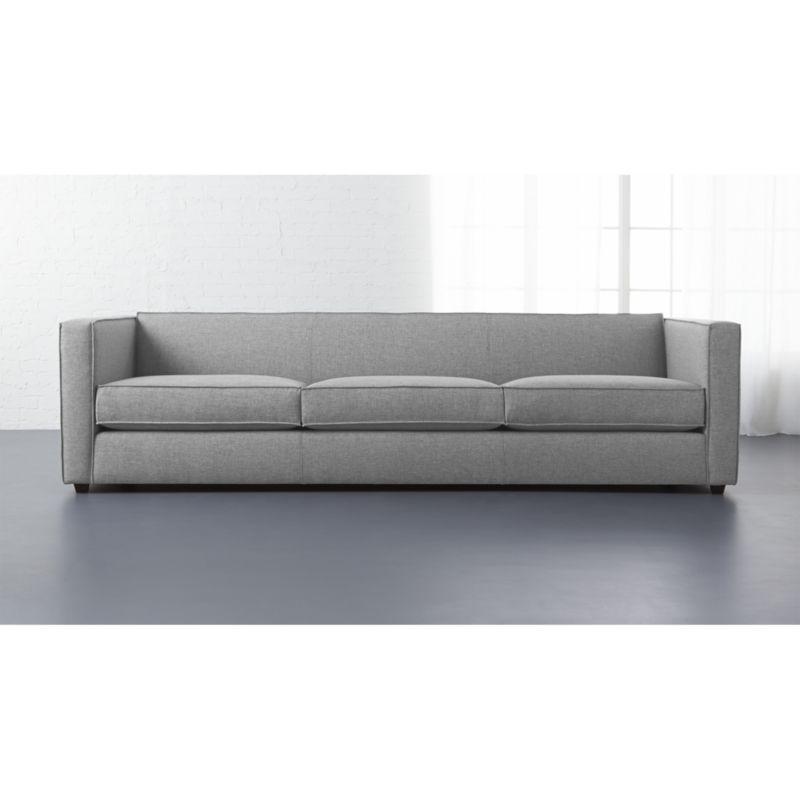 Club 3 Seater Sofa Cb2