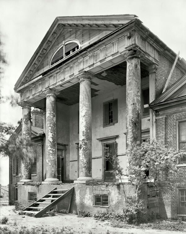 Abandoned Plantation, Northwest Alabama.