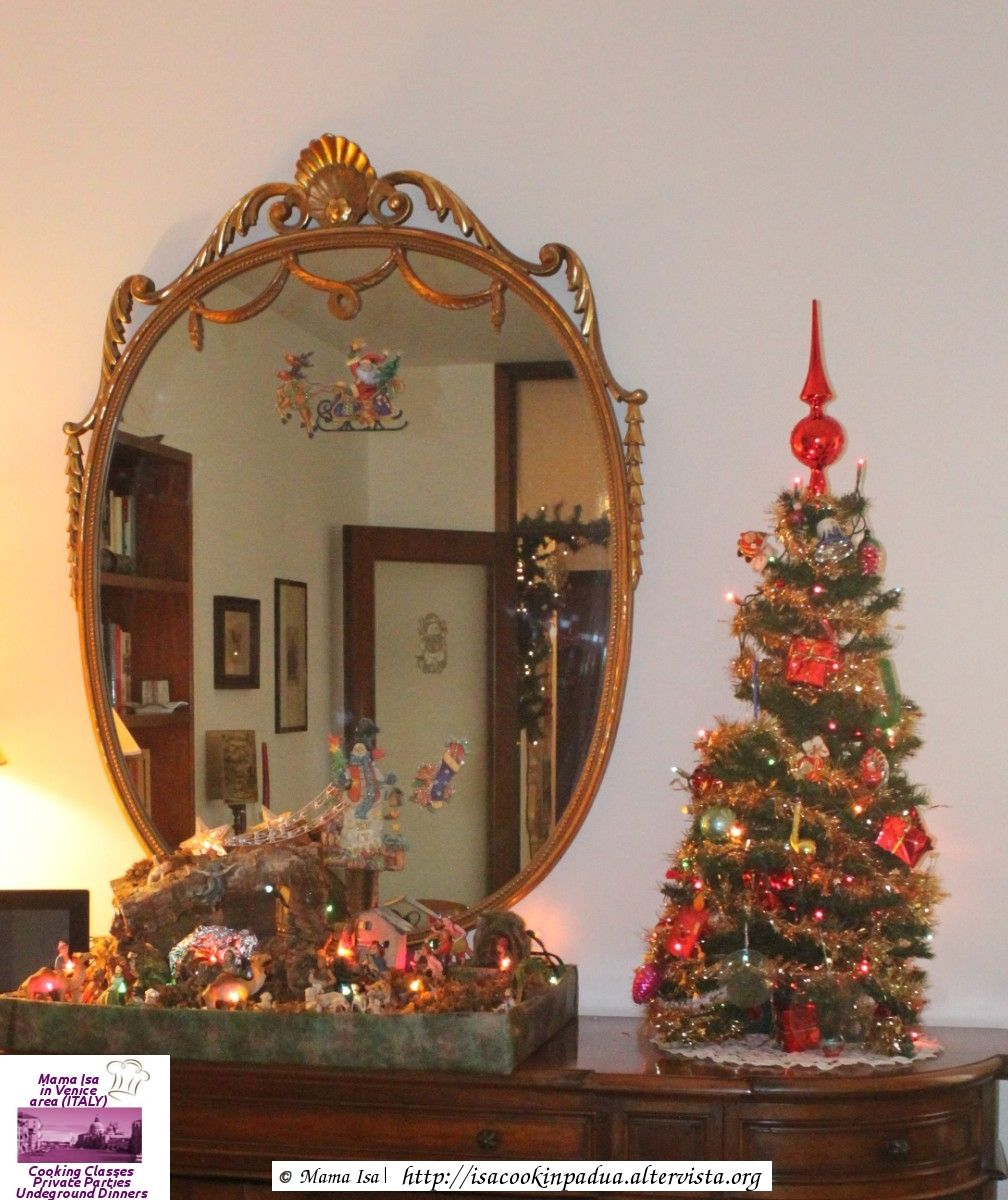 Christmas in an italian home presepe and albero if you are