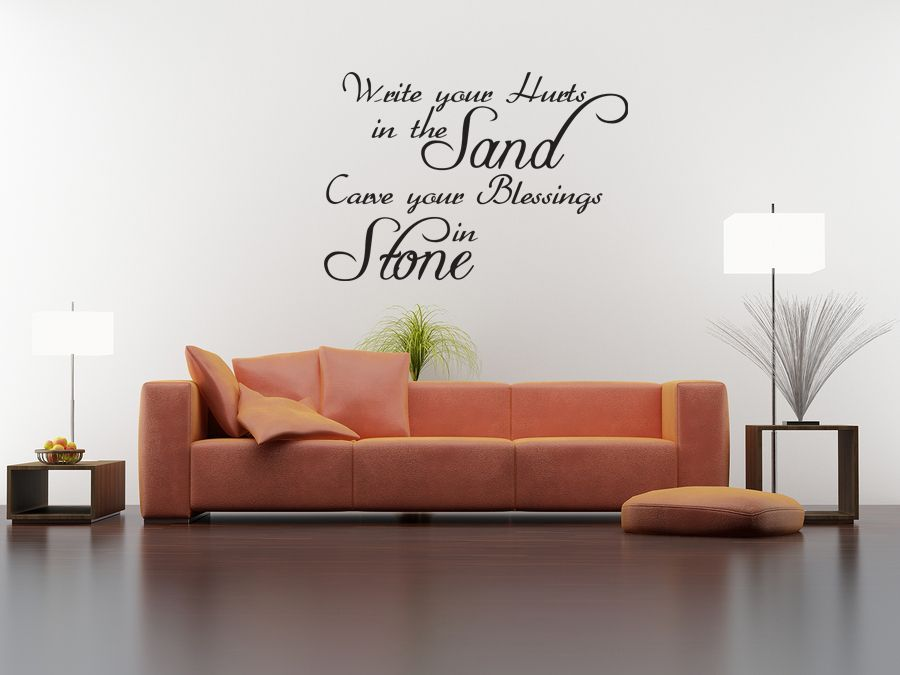 Image Is Loading Wall Quote Decal Vinyl Sticker Write Your