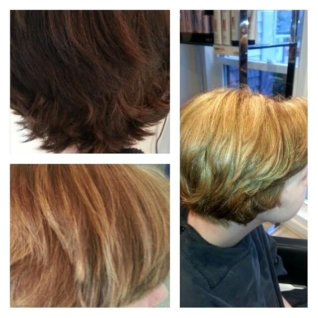 2 Step Corrective Color Dark Box Color To Blonde Hair Essentials Hair Blonde Hair