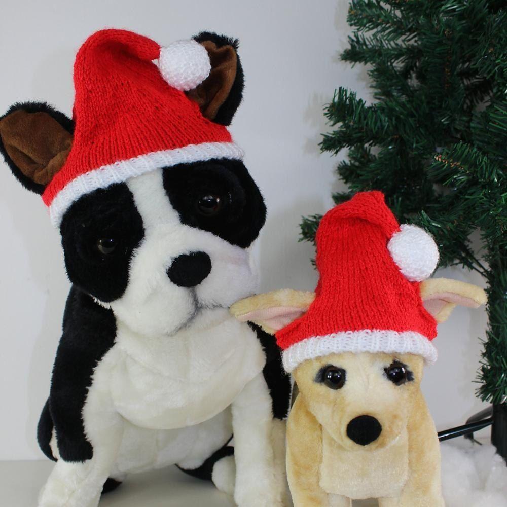 Free Dog Christmas Santa Hat Knitting Pattern By Madmonkeyknits Dog Sweater Crochet Pattern Knitting Patterns For Dogs Santa Hat Pattern