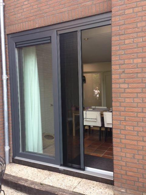 Schuifpui kleur antraciet werk in nuenen brabant for Brabant deur