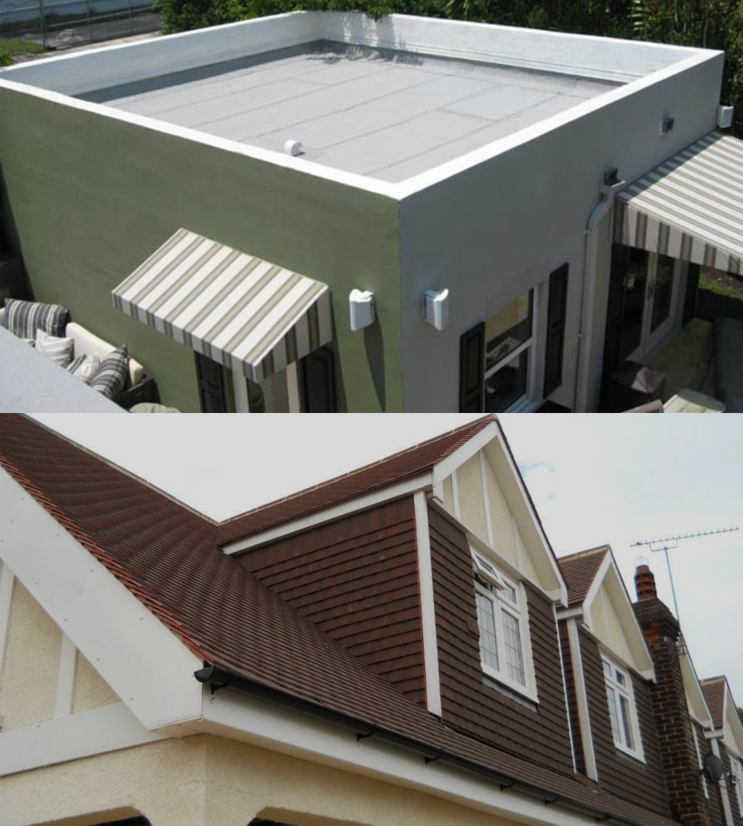 Want To Know About Chlorinated Polyethylene And Chlorosulfonated Polyethylene Roofing Systems No Look Further Her Flat Roof Systems Roofing Systems Flat Roof