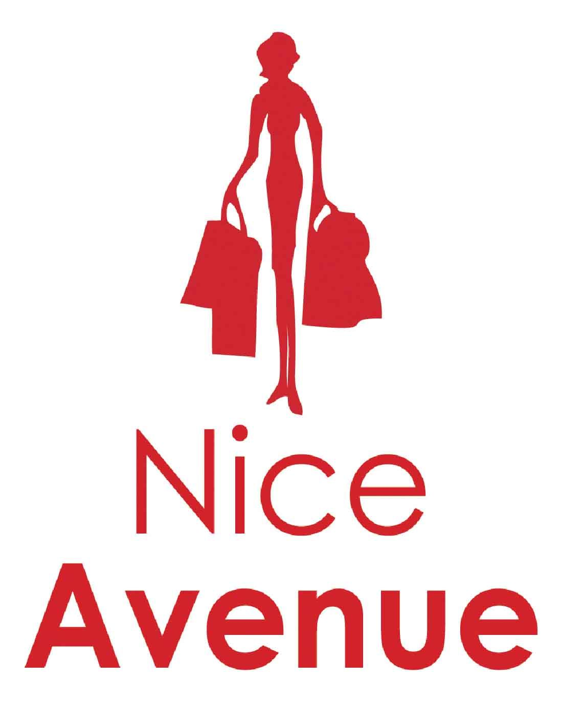 Logo rouge de Nice Avenue.