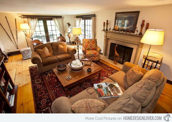 17 awesome african living room decor african living for African themed bedroom ideas