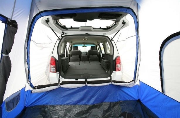 Rear cabin tent, fits onto the back of